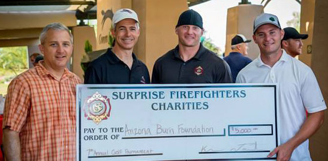 Surprise Fire Charity