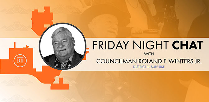 Friday Night Chat with Council member Winters