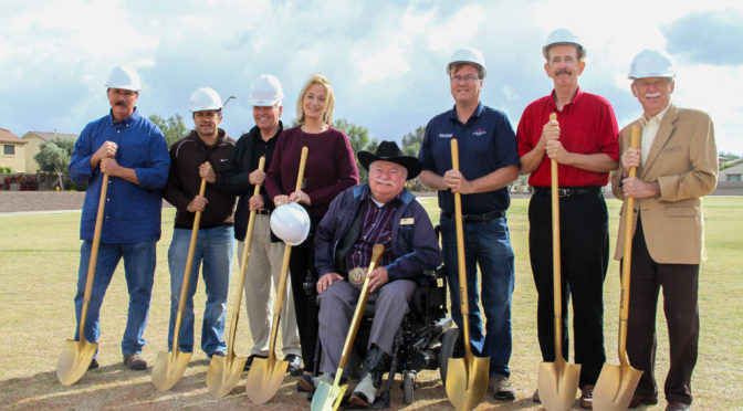 Council at Surprise Farms Park Groundbreaking