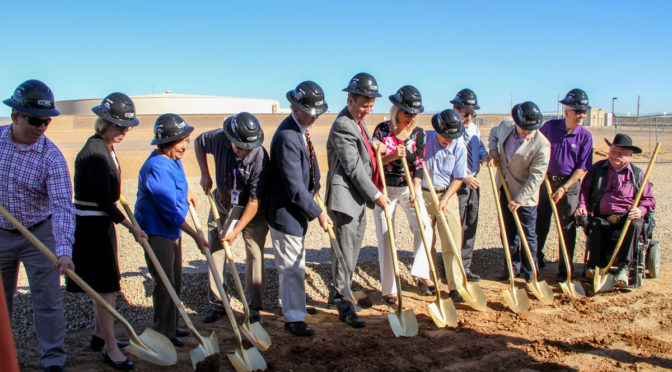 City breaks ground on new water industry training facility