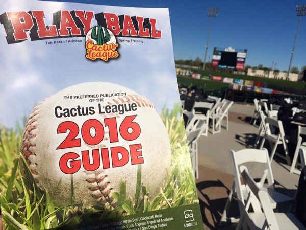Cactus League 2016 guide cover