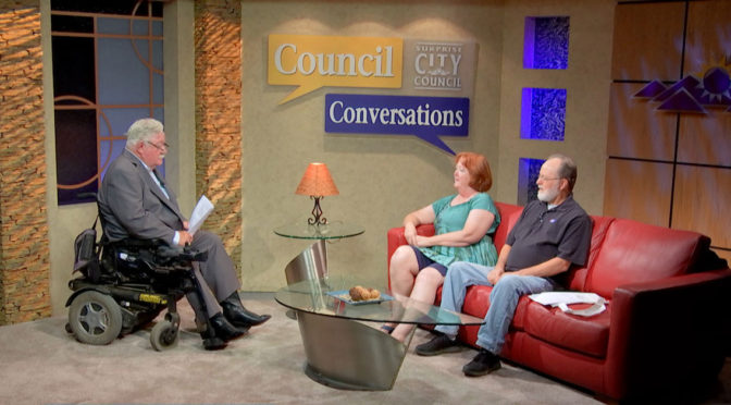 Roland Winters Council Conversations Show