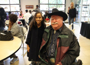 Councilmember Winters with event guest