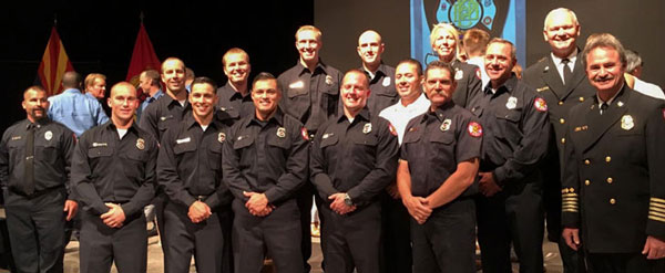 Surprise Fire-Medical fire academy graduates