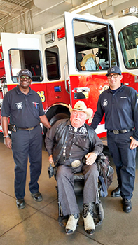 Councilmember Willams at the Fire Station 305 Open House
