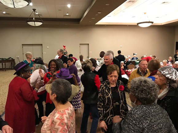 Senior Center Holiday Party at the Colonnade