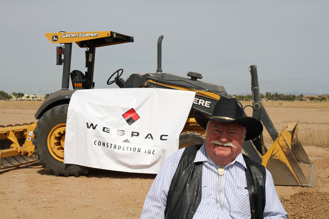 Councilmember Winters at the Trimaco Ground breaking
