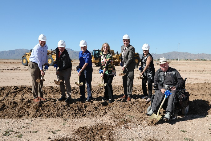 Toll Brothers ground breaking