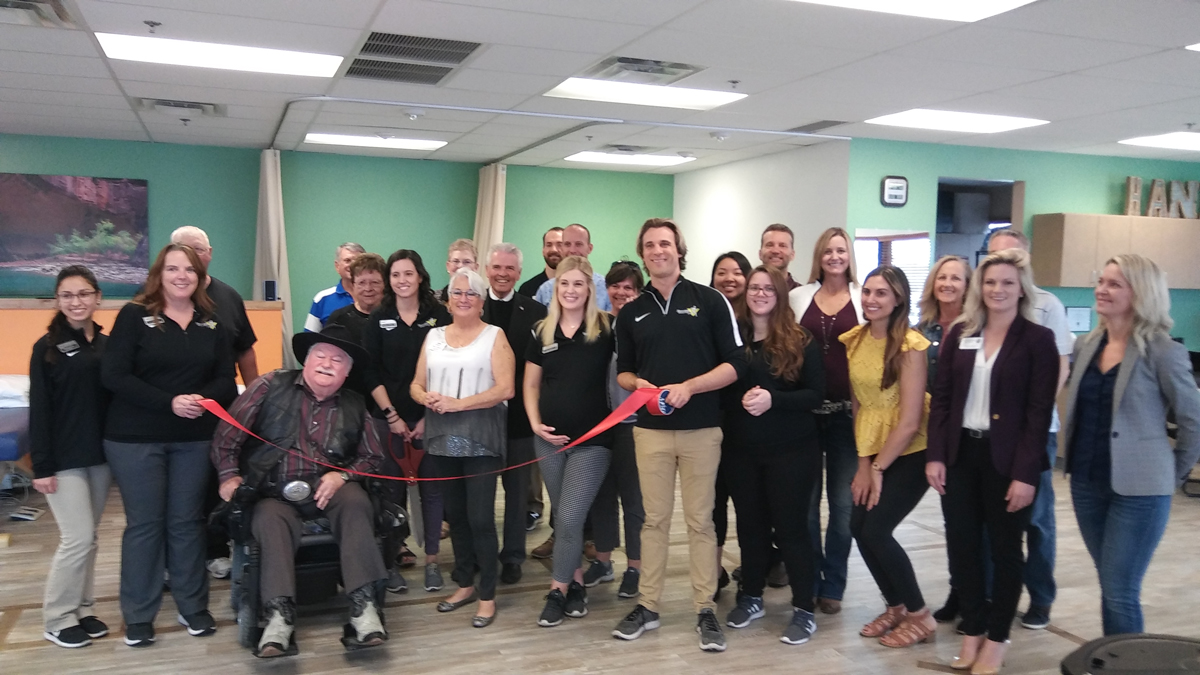 Spooner's Physical Therapy Ribbon Cutting