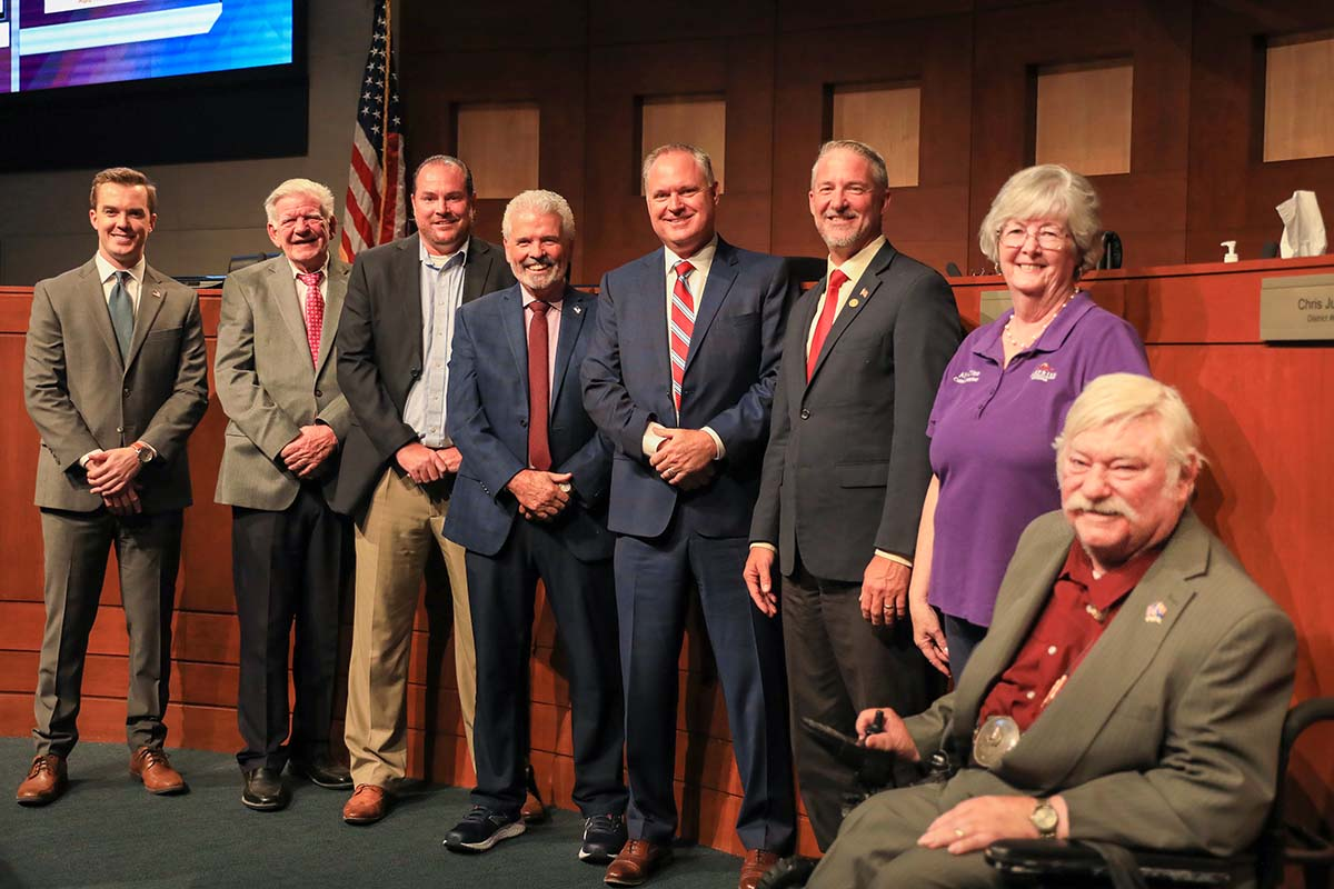 Surprise City Council and former Assistant City Manager, Terry Young.